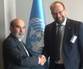 Meeting between the SWG Secretary General and FAO Director General during the Thirtieth Session of the FAO Regional Conference for Europe. 4 – 6 May 2016, Antalya, Turkey